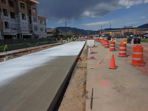 Photo - Boulder Junction - Pearl Parkway Multiway Improvements (Construction)