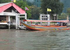 Bangkok, Thailand (east med wanderer) Tags: river thailand boat bangkok chaophrayariver worldtrekker totallythailand