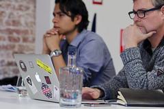 Workshop Serge de Beer (Waag Society) Tags: amsterdam laptop workshop dag app apps inspiratie workshops scheepvaartmuseum meesters sprekers evenement waagsociety educatief educatie ministerievanocw scholen ontwikkelen meesterapp meesterappevenement