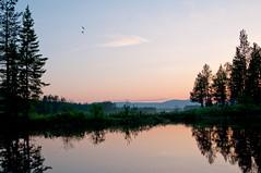 passage (johanskold) Tags: water night fishing nikon sweden midnightsun norrbotten swedishlapland