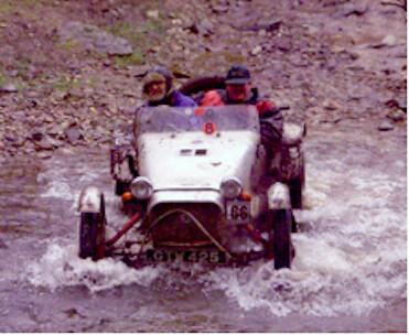 Classic car trialling 1