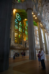 Softlution citytrip Barcelona (Dirk DS) Tags: barcelona colors spain colours cathedral gaudi sagradafamilia stainedglasswindow spanje kathedraal kleuren glasraam citytrip glasramen 2013 glaswerk dirkdesmet softlution dirkds