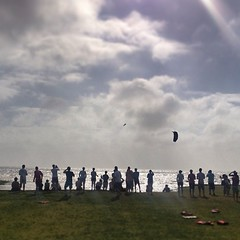 Super windy day on the last day of the #triplesinvitational    Fun kite session! 40 knots + @jasonslezak @realwatersports #kiteboarding (bryan elkus) Tags: square squareformat iphoneography instagramapp uploaded:by=instagram