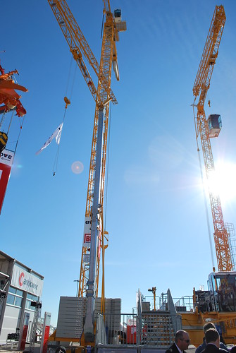 Potain tower cranes