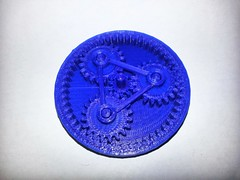 20130612_112307 (pctechwise) Tags: 3d objects planetary gears printed 3dprinter makergearm2