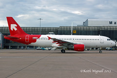 9H-AEF  A320  AMC (Keith Wignall) Tags: man special amc a320