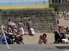 Barry Island July 2013 -  069 (marmaset) Tags: summer seagulls men beach seaside sand lads barry trunks swimmers sunbathers beachboys heatwave barryisland funinthesun rightcommon sunworhippers