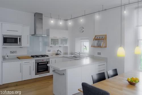Cozinha planejada de aço