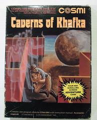 Caverns of Khafka (dustlayer) Tags: ntsc disk c64 frontcover commodorec64