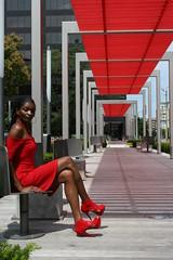 the woman in the red dress (Frank Mixson) Tags: red lady dress random cleveland clevelandohio hiphop neo regina siren vixen ladyinred womaninred frankdaripa frankmixson timelineproductions norteastohio graffiticleveland thewomaninthereddress matrixreddress