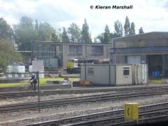 079 at Inchicore, 15/7/08 (hurricanemk1c) Tags: irish train gm rail railway trains 2008 railways irishrail generalmotors inchicore emd 071 079 iarnrd ireann iarnrdireann