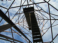 Waubay Refuge Fire Tower (spencerneuharth@ymail.com) Tags: tower observation fire wildlife south national dakota usfws refuge fws waubay