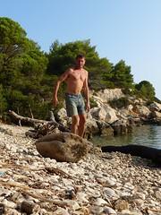 Johnny at Svitnja (JohnnyHamster) Tags: croatia naturist vis fkk otok svitnja
