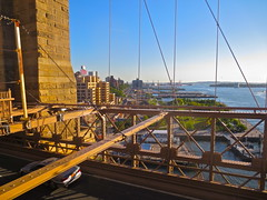 Brooklyn Heights Promenade And Docks From Bridge (Christian Montone) Tags: nyc newyorkcity brooklyn brooklynbridge montone christianmontone