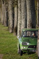 Créneau vert (olyv70) Tags: auto france automobile citroën voiture ami ami8 loireatlantique 3cv canaldelamartinière troischevaux canalmaritimedelabasseloire