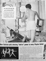 75 1956 (Undie-clared) Tags: girdle playtex fabricon
