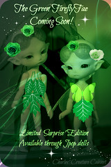 CCC The 'Green' Firefly Fae (chartar_69) Tags: ccc fidelina charlescreaturecabinet linmurasakidesign fideliassecretthefireflyfaerie fideliafireflyfaerie cccfireflyfaeries jpopdollsnet
