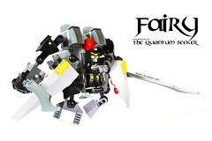 FAiRY #01 (clmntin.E) Tags: fiction digital canon toy photography robot suits lego designer military hard mini science fairy 7d figure scifi product swords seeker mecha quantum mech povray mocs minifigure moc alchemist ldd