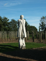 Shot at Dawn - National Memorial Arboretum - Alrewas - 2013. (Eric R  Dodd) Tags: staffordshire thornbury alrewas nationalmemorialarboretum shotatdawn ericrdodd