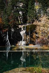 Calming (Let Ideas Compete) Tags: lake water pond october colorado peaceful glenwood springs hanging emerald placid cascada guysweekend peasceful hikerhabitat