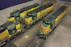 ROOF DETAILS (Set and Centered) Tags: railroad chicago scale train model gm power general railway motors and locomotive motive ho division northwestern custom corp 187 services sd45 railroading emd 965 sd402 6544 cnw 6871 6539 electromotive cmps