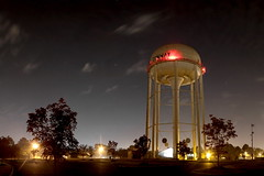 Water Tower at Night (greg_kennedy) Tags: night watertower