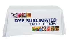 Fabric Table Cover | Signarama | Dye Sublimated