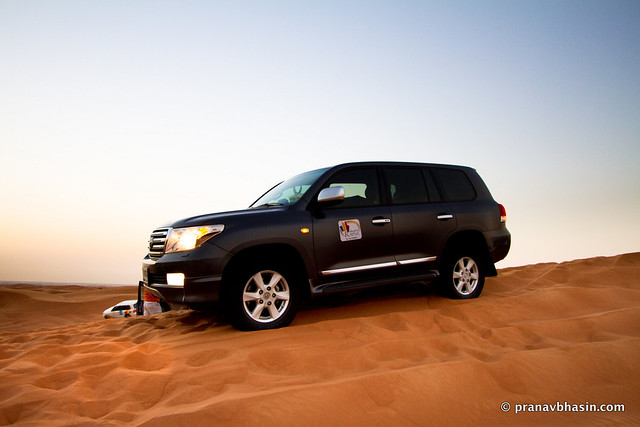 4x4 Monster Up The Dunes, Desert Safari, Dubai