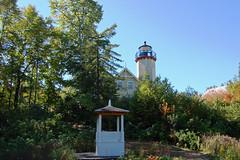 Michigan, Emmet County, McGulpin Point Lighthouse (2,157) (EC Leatherberry) Tags: lighthouse michigan lakemichigan greatlakes straitsofmackinac 1868 emmetcounty normangothic octagonalshape mcgulpinpointlighthouse liveinlighthouse