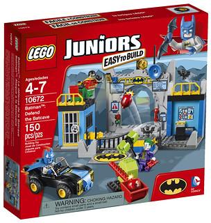 60年代經典蝙蝠俠登場!LEGO Juniors 10672 蝙蝠洞保衛戰