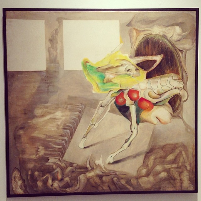 """""""La Silla del Perro"""" 1970 • """"El Pasado Presente"""" de Gerardo Chávez #art #arte #arteenlima #artinlima #artista #artist"""