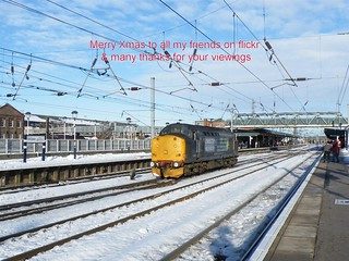 37510 through Doncaster, 8th Dec 2010.