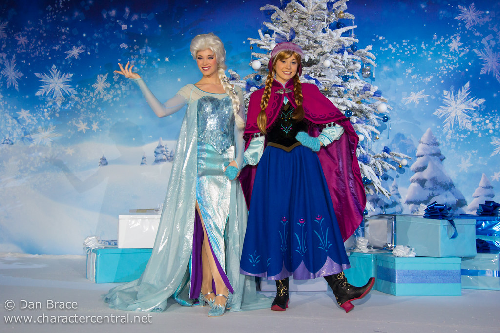 frozen event at disney character central