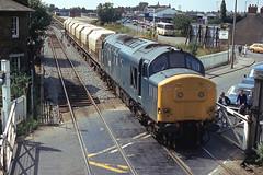British Rail Class 37 - Spalding (Neil Pulling) Tags: britishrailclass37 spalding eightgatesspalding linconshire railway spaldingrailway train englishelectrictype3 uk england