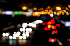 Traffic (inFocusDCPhoto  Young Spanish photographer) Tags: light red white black blur cars blanco luz night noche movement spain rojo nikon europa europe traffic negro santander coches cantabria trafico 2014 borroso vision:sunset=0807 vision:sky=0932 vision:clouds=0646 vision:car=0703