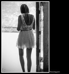 goodbye (magicoda) Tags: street venice people blackandwhite bw italy woman white hot sexy girl backlight see donna nikon italia foto dress legs lace candid skirt curioso bn sensual persone voyeur farewell blonde passion goodbye fotografia dslr venezia gonna biancoenero controluce abito ragazza seethru addio gambe pizzo passione veneto d300 bionda trasparenza vedere eleganza trasparence arrivederci 2013 blackwhitephotos streetphotografy magicoda davidemaggi maggidavide