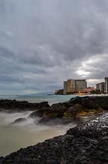 Storm over Waikiki (Jason Fairbairn Photography) Tags: ocean travel sunset usa cloud storm water rock clouds boats hawaii evening boat nikon rocks waves waikiki oahu wave stormy nik waikikibeach rockwall stormyweather waikikisunset globalnomad nikonphotography d5100 travelgram mytravelgram