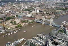 London (RayKippig) Tags: uk london thames towerbridge river unitedkingdom thetower theshard londonbridgetower