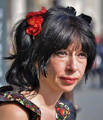 Freckles And Flowers (jaykay72) Tags: street uk london candid streetphotography trafalgarsquare londonist stphotographia