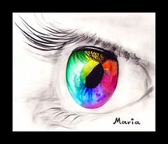 AVRIL (Maria Crations) Tags: en couleurs arc oeil yeux ciel avril