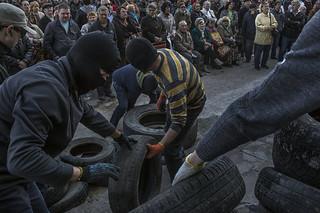 美国与北约警告俄罗斯不要插手乌克兰事务
