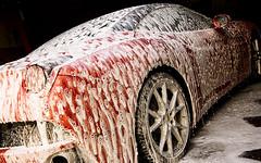 Ferrari California (Edir Manzano) Tags: california red brasil nikon ferrari nikond50 foam nikkor matogrosso detailing cuiabá 18105mm luxurycarcare