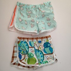 More city gym shorts as pyjamas (Mary-and-Tobit) Tags: flannel childrenatplay michaelmiller purlsoho robertkaufman purlbee valoriwells sarahjanestudios citygymshorts