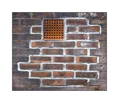 Brickwork Repair, North London, England. (Joseph O'Malley64) Tags: brickwork repair renovation bricksmortar cement pointing airbrick vent northlondon london england uk britain british greatbritain wall walls builtenvironment dwelling home homes