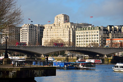 Waterloo Bridge / Shell Mex House (Images George Rex) Tags: london uk riverthames waterloobridge shellmexhouse savoy theadelphibuilding architecture modernism deco england photobygeorgerex unitedkingdom britain imagesgeorgerex bridge artdeco