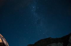 Starry night at the Pinnacles campsite