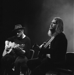 Evening with Israel Nash and Eric Swanson in Utrecht 2017