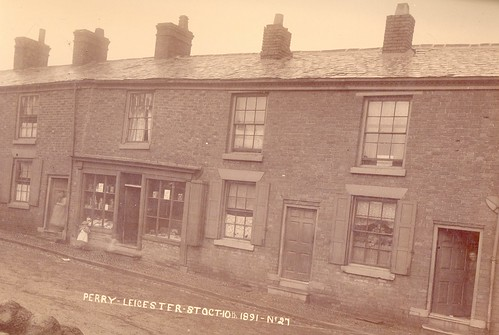 Perry's houses, 10-18 Leicester Street – 1891