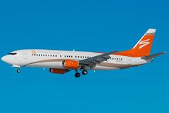 Swift Air 9160 (Ychocky) Tags: 150500mmf563 boeing7374b7 bostonbruins cyow n802tj nhlcharter ottawamacdonaldcartier sigma swiftair yow