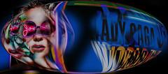 Some Vegas Fun Stuff I (Paul B0udreau) Tags: canada ontario niagara paulboudreauphotography nikon nikond5100 photoshop nevada lasvegas tourist collage layer vegasstrip street sphere sign advertising ladygaga nikkor1855mm